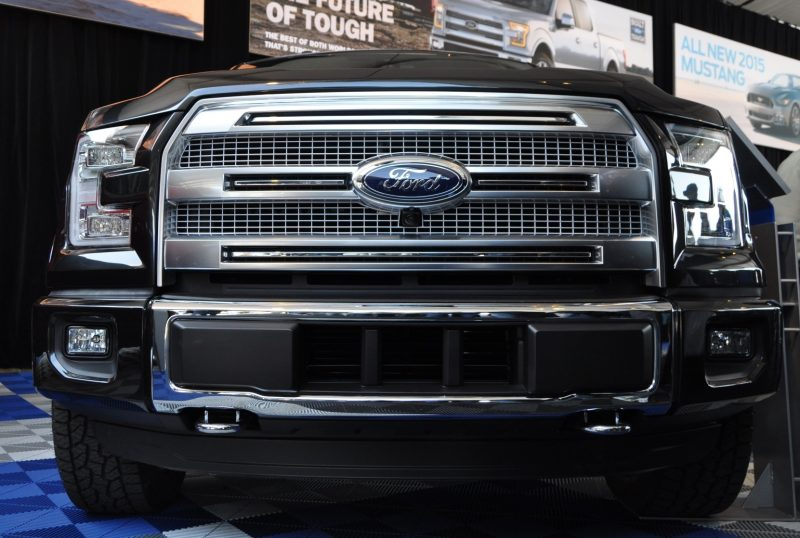 2015 Ford F-150 Platinum Is Disruptively Attractive in Real Life 23