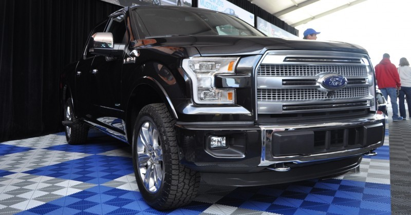 2015 Ford F-150 Platinum Is Disruptively Attractive in Real Life 24