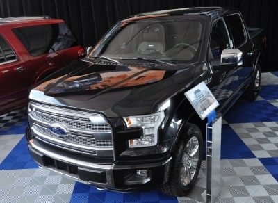 2015 Ford F-150 Platinum Is Disruptively Attractive in Real Life 28