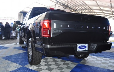 2015 Ford F-150 Platinum Is Disruptively Attractive in Real Life 32