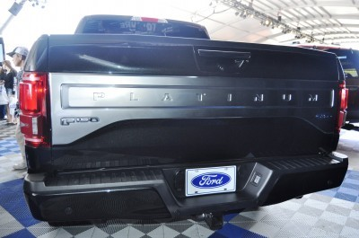 2015 Ford F-150 Platinum Is Disruptively Attractive in Real Life 33