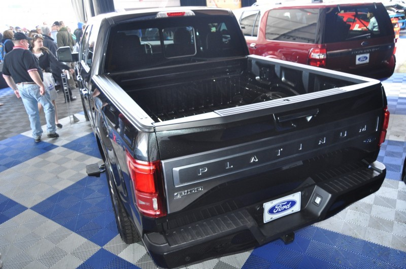 2015 Ford F-150 Platinum Is Disruptively Attractive in Real Life 34