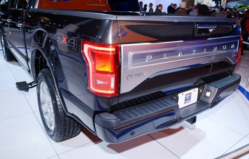 2015 Ford F-150 Platinum Is Disruptively Attractive in Real Life 42