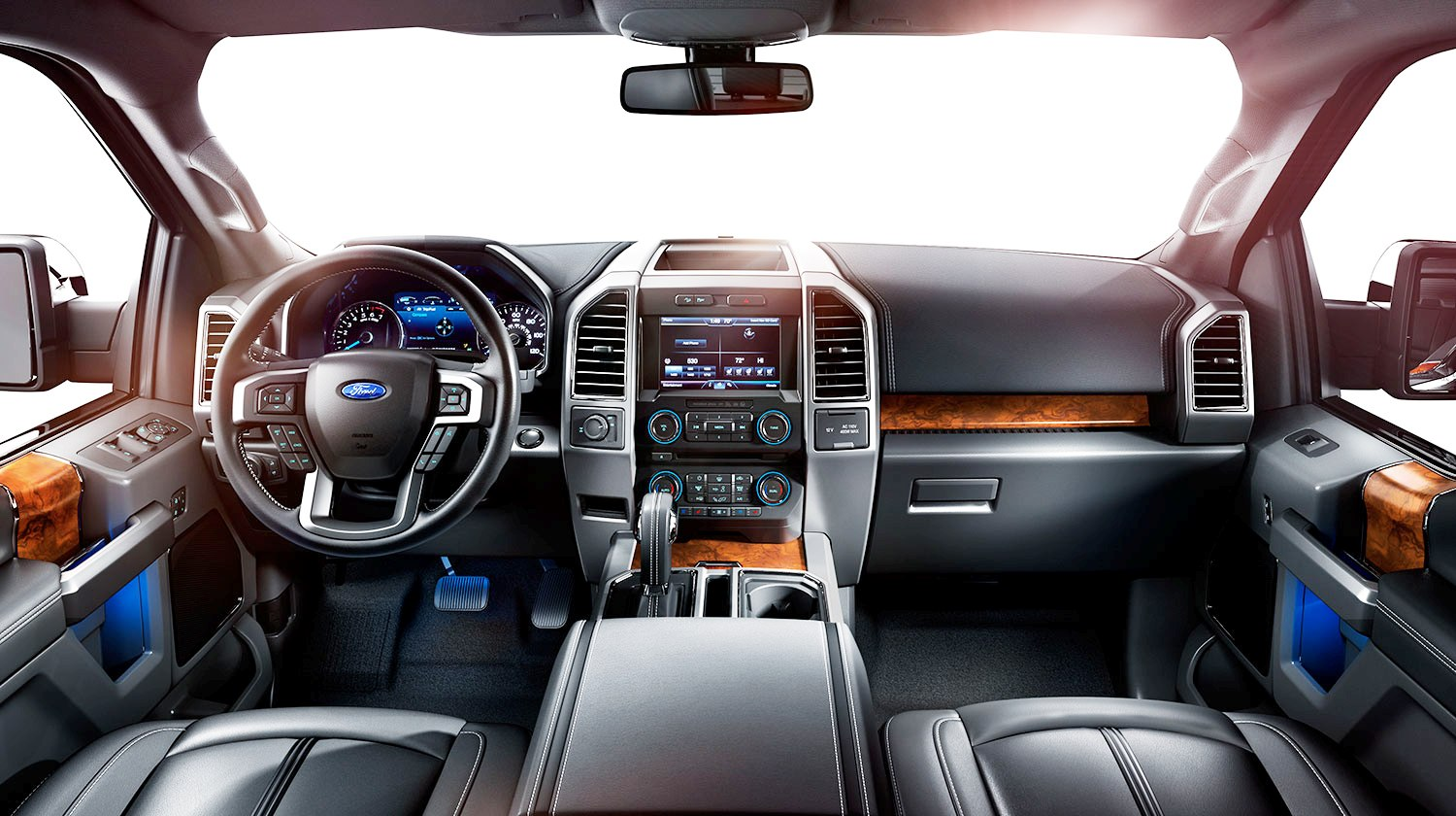 2015 Ford F150 Platinum Is Disruptively Attractive