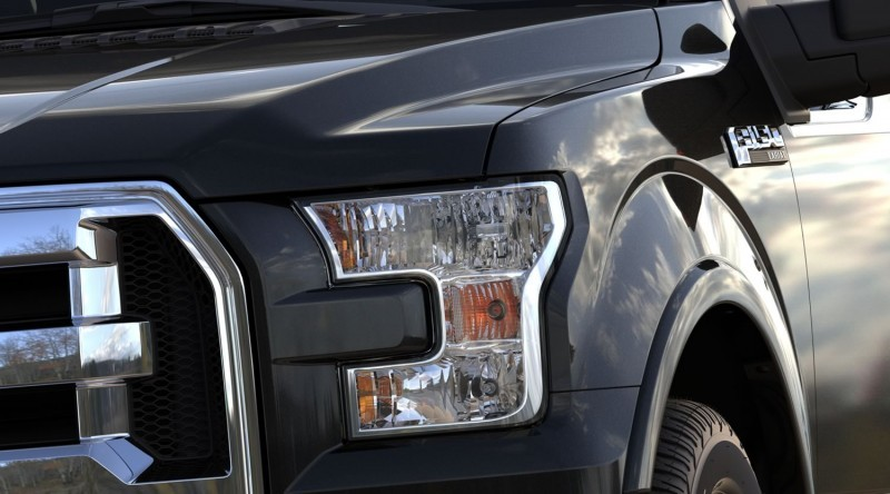 2015 Ford F-150 Platinum Is Disruptively Attractive in Real Life 48