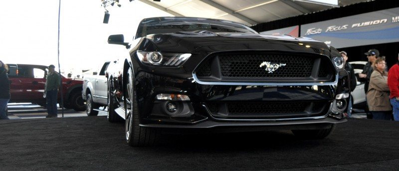 2015 Ford Mustang Snapped In the Flesh 2