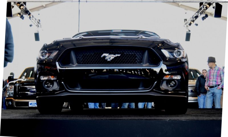 2015 Ford Mustang Snapped In the Flesh 72