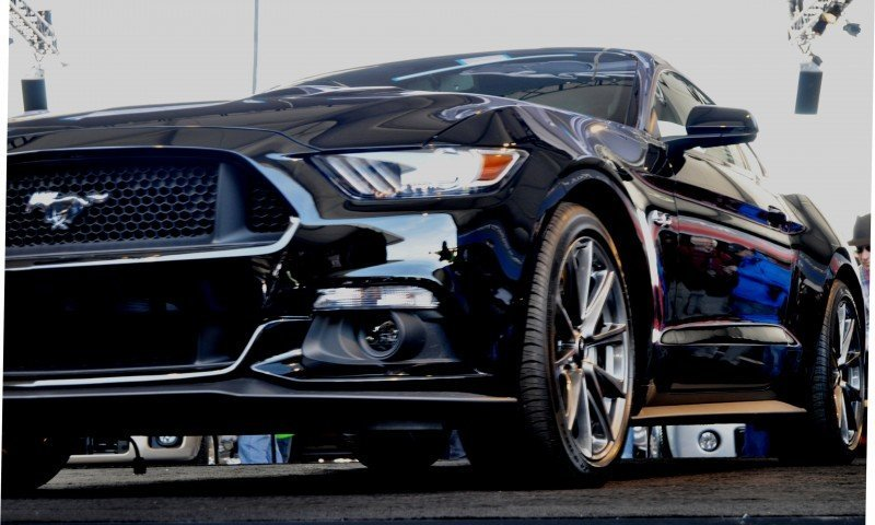 2015 Ford Mustang Snapped In the Flesh 75