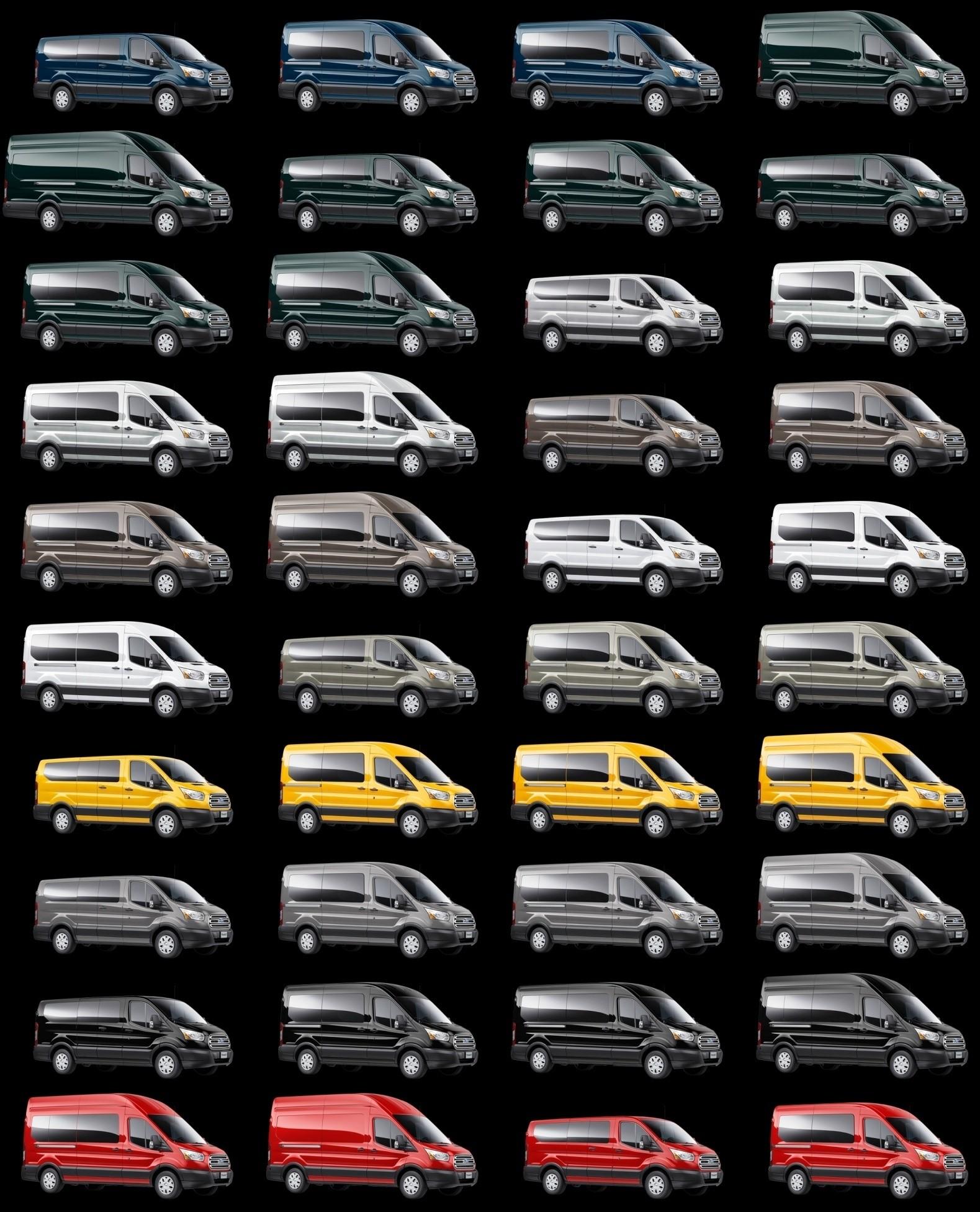 Silver 2015 FORD Transit Passenger Van GIF 2015 TRANSIT tiles  sc 1 st  Car-Revs-Daily.com & 2015 Ford Transit Is Nearly Here! Summer 2014 Arrival -- Work Van ... markmcfarlin.com