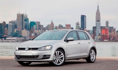 2015 VW Golf TSI 3dr Joins TDI and GTI in Brooklyn en Route to Detroit Show 18