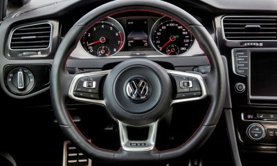 2015 VW Golf TSI 3dr Joins TDI and GTI in Brooklyn en Route to Detroit Show 2