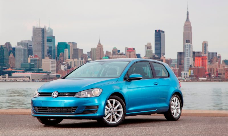 2015 VW Golf TSI 3dr Joins TDI and GTI in Brooklyn en Route to Detroit Show 26