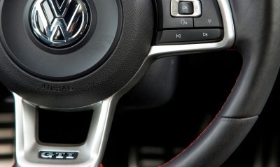 2015 VW Golf TSI 3dr Joins TDI and GTI in Brooklyn en Route to Detroit Show 3