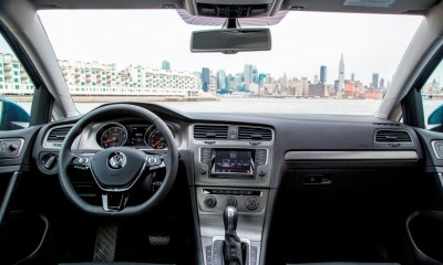 2015 VW Golf TSI 3dr Joins TDI and GTI in Brooklyn en Route to Detroit Show 9