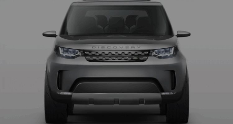 2016 Land Rover Discovery COncept GIF