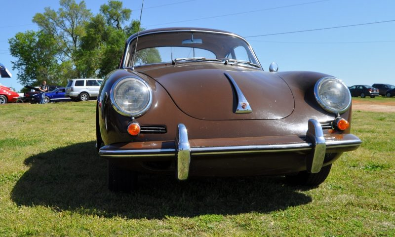 Affordable Classic Rewards - All-Original 1965 Porsche 356C in Togo Brown 12