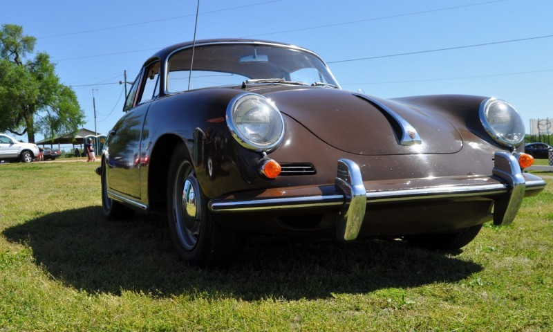 Affordable Classic Rewards - All-Original 1965 Porsche 356C in Togo Brown 13