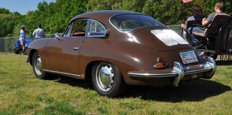 Affordable Classic Rewards - All-Original 1965 Porsche 356C in Togo Brown 3