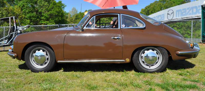 Affordable Classic Rewards - All-Original 1965 Porsche 356C in Togo Brown 5