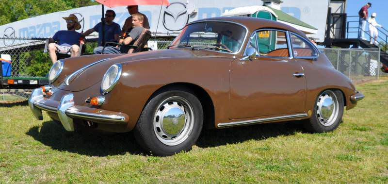 Affordable Classic Rewards - All-Original 1965 Porsche 356C in Togo Brown 7