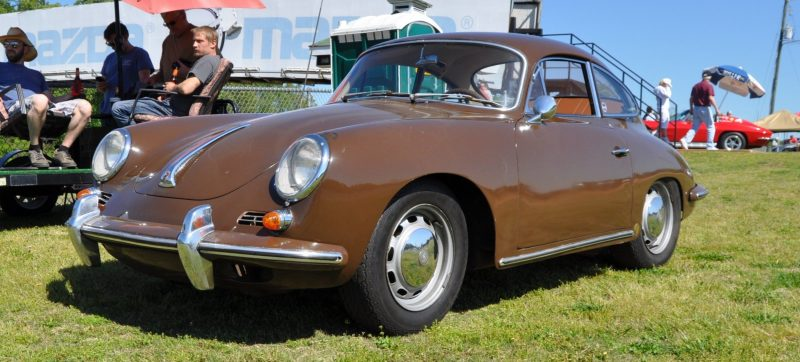 Affordable Classic Rewards - All-Original 1965 Porsche 356C in Togo Brown 8