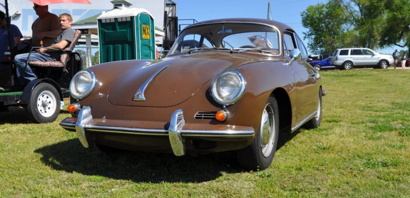 Affordable Classic Rewards - All-Original 1965 Porsche 356C in Togo Brown 9