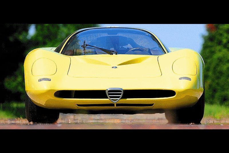 Alfa Romeo 1959 Concept Tipo 332 Coupe Speciale GIF