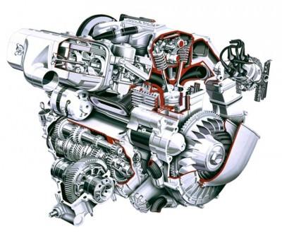 Automotive Artist Showcase -- 3D Mechanical Illustrator Hisashi Saito -- 30 Stunning See-Through Honda Designs 12
