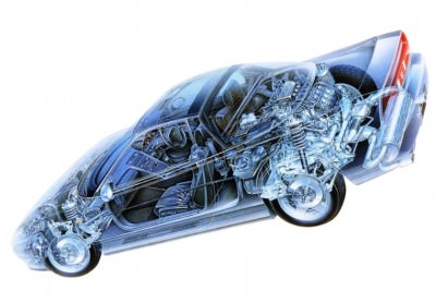Automotive Artist Showcase -- 3D Mechanical Illustrator Hisashi Saito -- 30 Stunning See-Through Honda Designs 19
