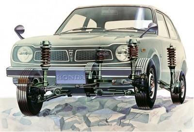 Automotive Artist Showcase -- 3D Mechanical Illustrator Hisashi Saito -- 30 Stunning See-Through Honda Designs 2