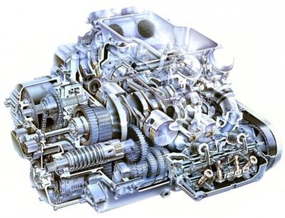Automotive Artist Showcase -- 3D Mechanical Illustrator Hisashi Saito -- 30 Stunning See-Through Honda Designs 25