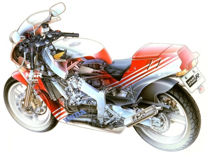 Automotive Artist Showcase -- 3D Mechanical Illustrator Hisashi Saito -- 30 Stunning See-Through Honda Designs 27