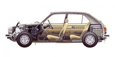 Automotive Artist Showcase -- 3D Mechanical Illustrator Hisashi Saito -- 30 Stunning See-Through Honda Designs 4