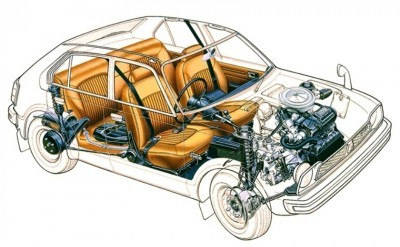 Automotive Artist Showcase -- 3D Mechanical Illustrator Hisashi Saito -- 30 Stunning See-Through Honda Designs 6