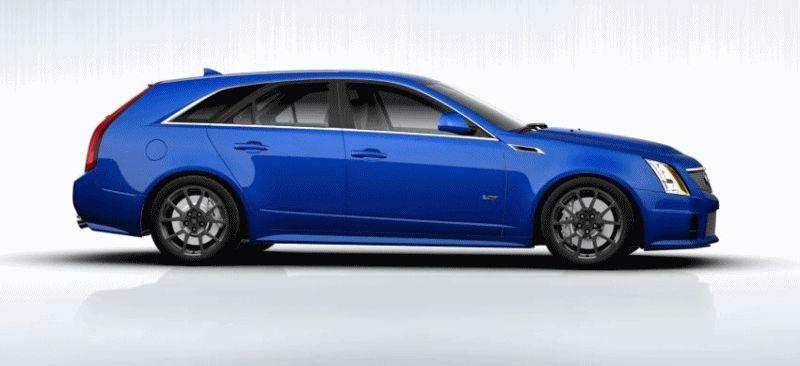 BLUE CTS-V Wagon GIF