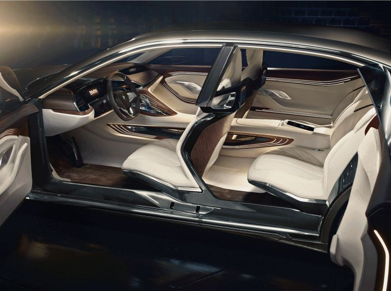 BMW Beining 2014 Vision Future Luxury INTERIOR GIF