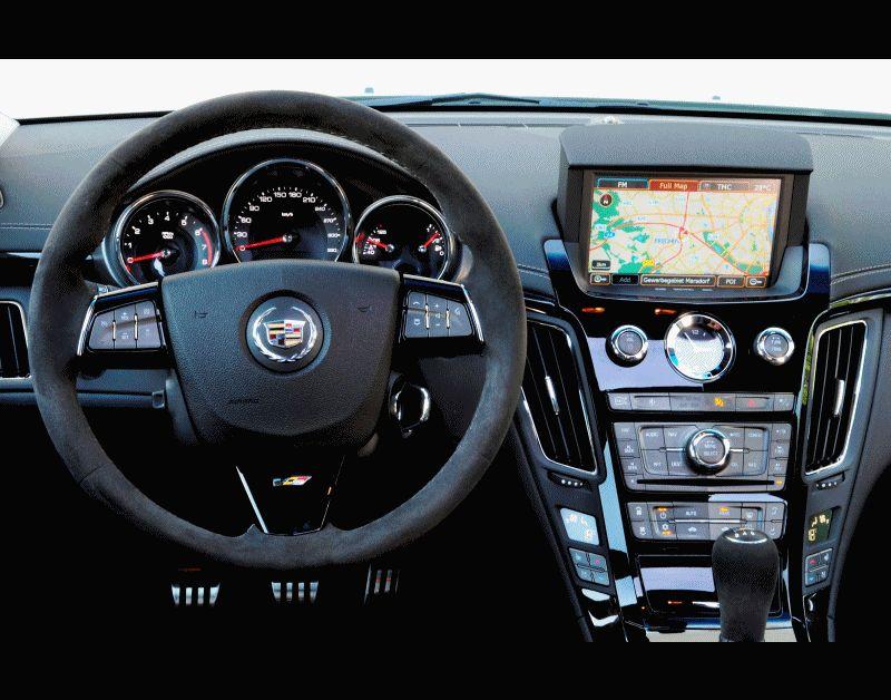 CTS-V WAGON Interior GIF