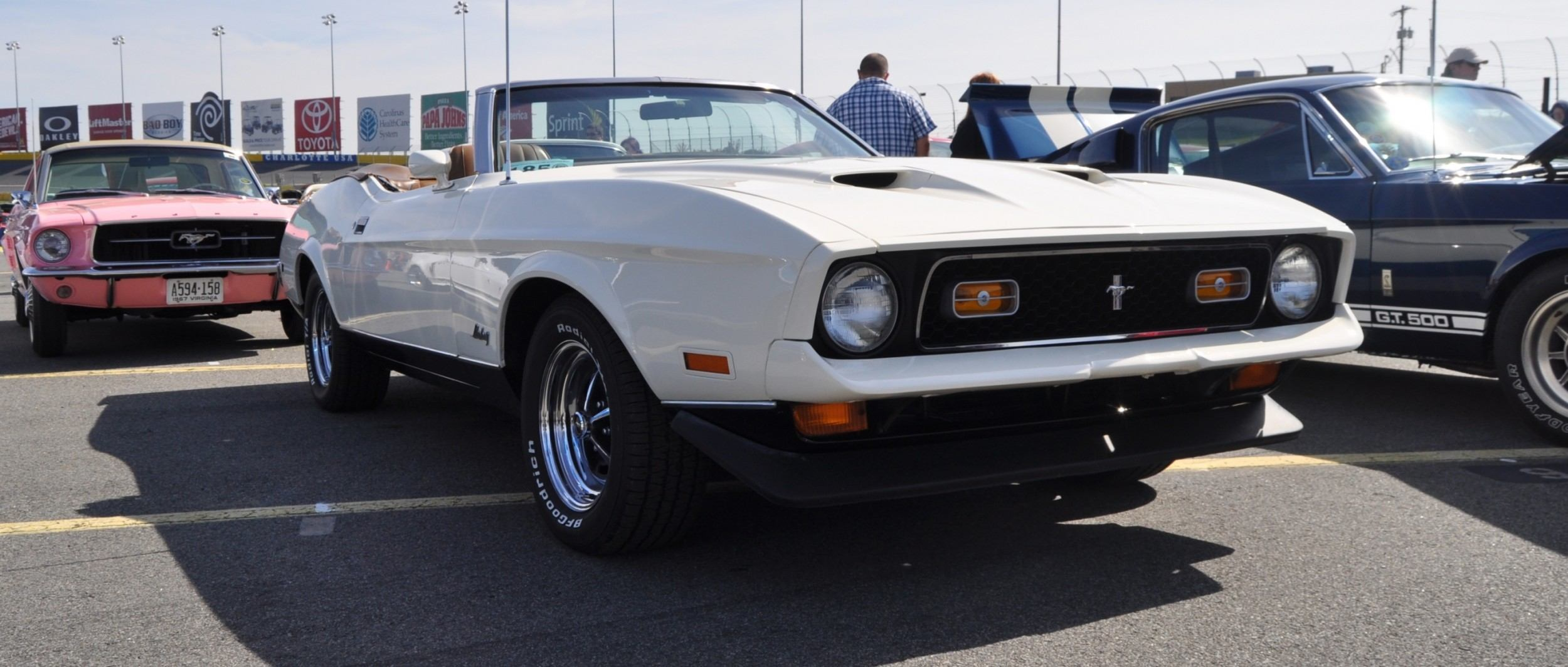 Mustang 50th Anniversary Showcase 1972 Ford Mustang