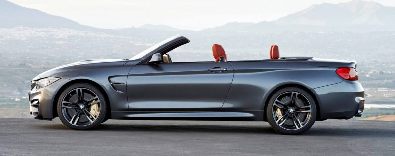 Car-Revs-Daily.com -- 2015 BMW M4 Convertible in 39 High-Res Official Photos 1