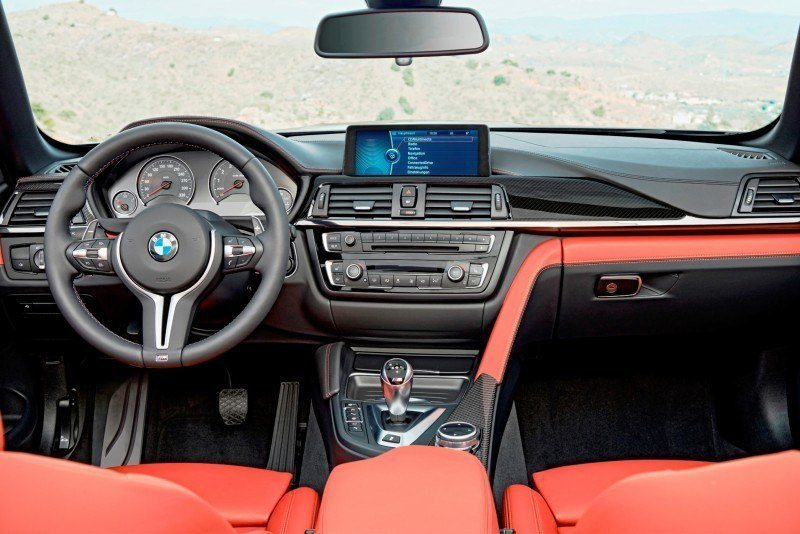 Car-Revs-Daily.com -- 2015 BMW M4 Convertible in 39 High-Res Official Photos 12