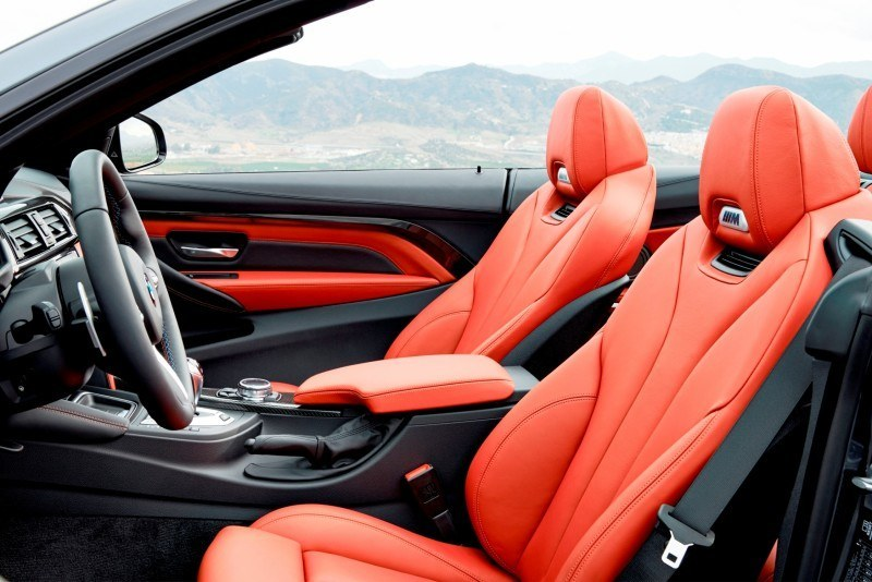 Car-Revs-Daily.com -- 2015 BMW M4 Convertible in 39 High-Res Official Photos 13