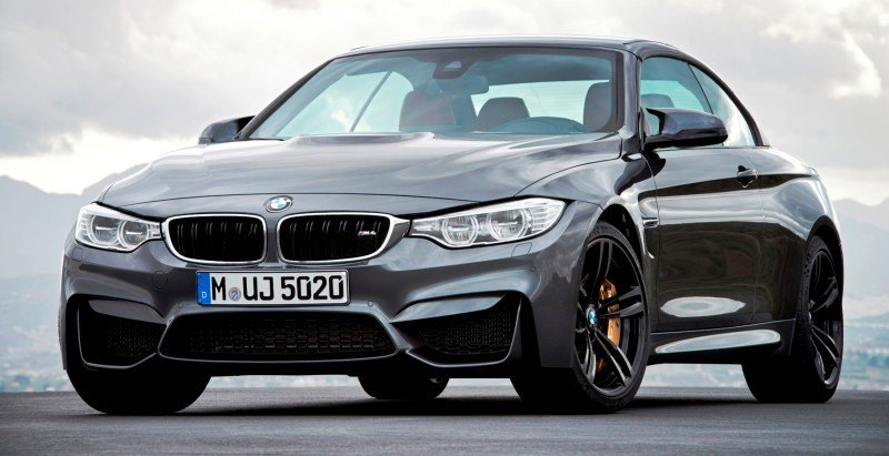 Car-Revs-Daily.com -- 2015 BMW M4 Convertible in 39 High-Res Official Photos 14