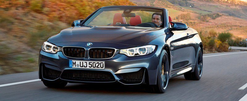 Car-Revs-Daily.com -- 2015 BMW M4 Convertible in 39 High-Res Official Photos 15
