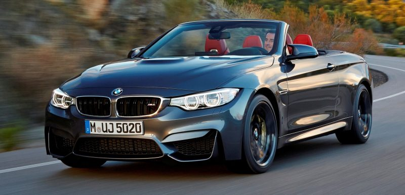 Car-Revs-Daily.com -- 2015 BMW M4 Convertible in 39 High-Res Official Photos 16