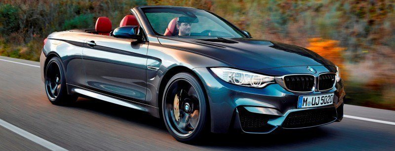 Car-Revs-Daily.com -- 2015 BMW M4 Convertible in 39 High-Res Official Photos 17