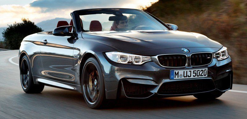 Car-Revs-Daily.com -- 2015 BMW M4 Convertible in 39 High-Res Official Photos 18