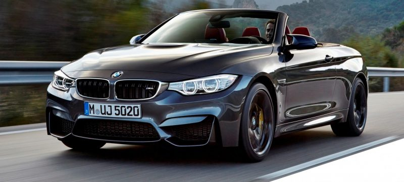 Car-Revs-Daily.com -- 2015 BMW M4 Convertible in 39 High-Res Official Photos 19