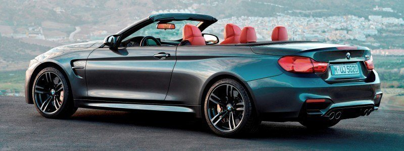 Car-Revs-Daily.com -- 2015 BMW M4 Convertible in 39 High-Res Official Photos 2