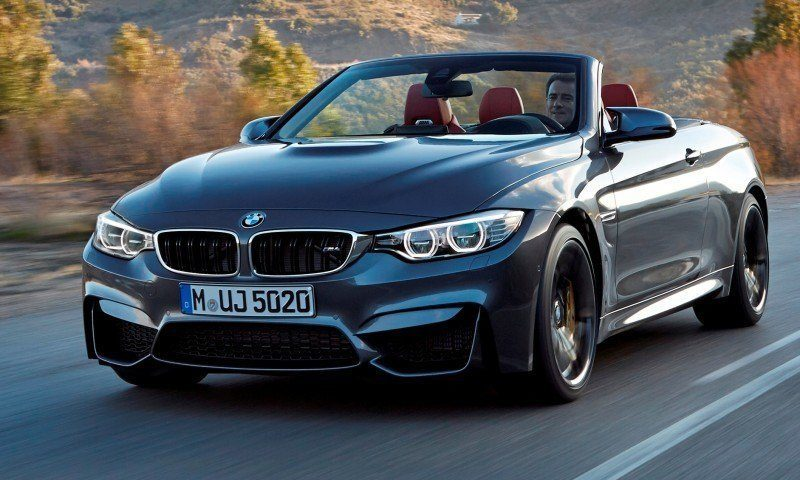 Car-Revs-Daily.com -- 2015 BMW M4 Convertible in 39 High-Res Official Photos 20