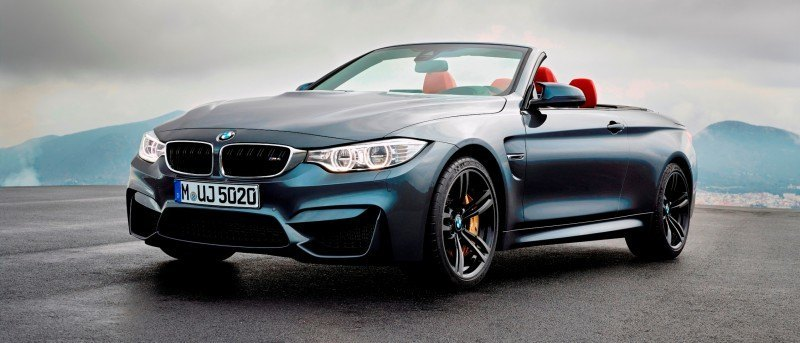 Car-Revs-Daily.com -- 2015 BMW M4 Convertible in 39 High-Res Official Photos 22